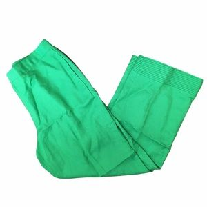 Cynthia Howe Maggy Boutique Green Ankle Pants